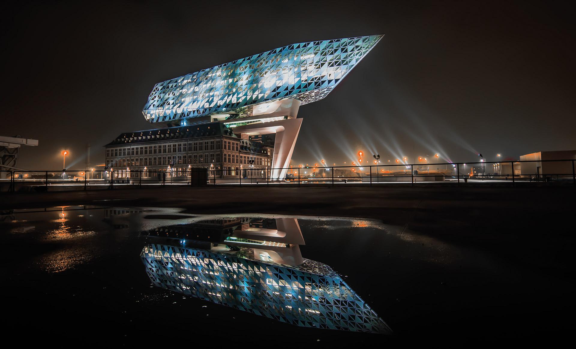 De Grungblavers Havenhuis Antwerpen